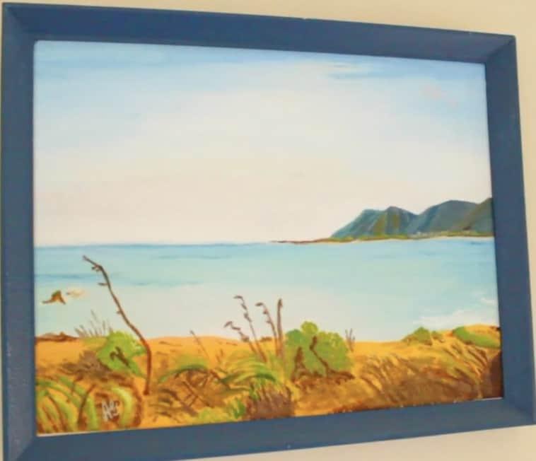 Alison painting