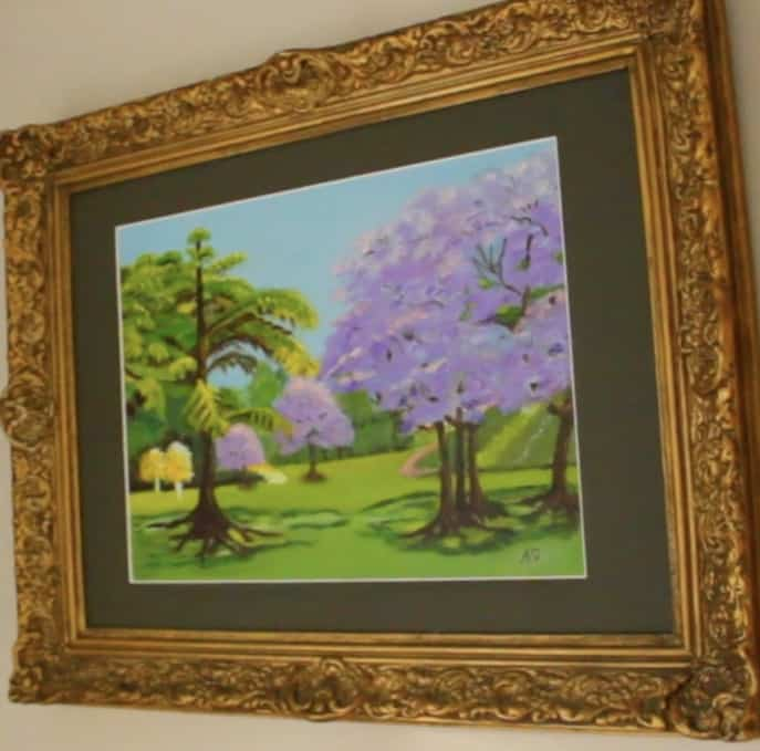 Alison painting 2